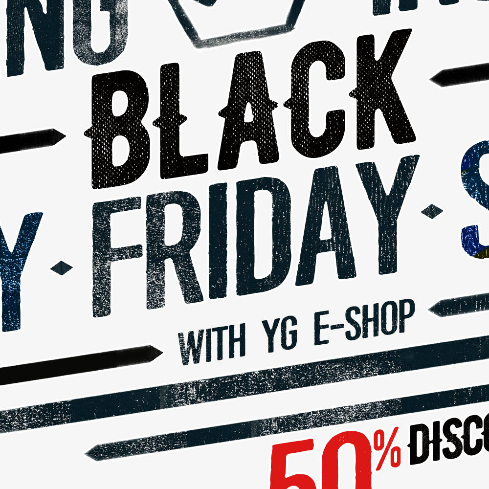 YG E-SHOP BLACK FRIDAY ! UP TO 50% SALE